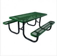 46-Inch Ada Square Picnic Table pictures & photos