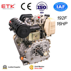 16HP Diesel Engine with Keyway Shaft pictures & photos