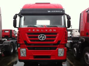 Genlyon M100 (4X2) High-Roof 380HP Tractor Head pictures & photos