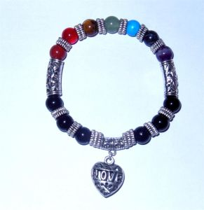 Natural Semi Precious Stone Crystal Beaded Charming Bracelet Gemstone Jewelry pictures & photos