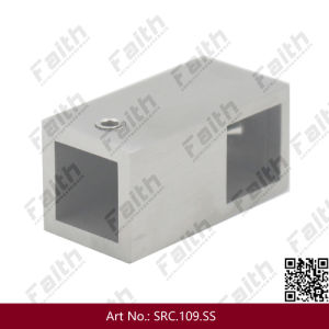 Stainless Steel Square Tube Connector for Frameless Glass Door pictures & photos