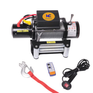4x4 Electric Winch 12500lb CE Approved pictures & photos