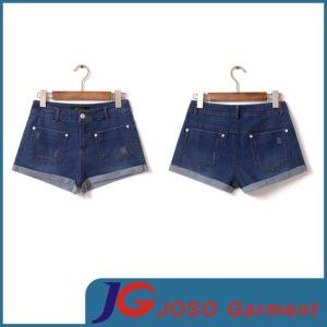 Women Fashion Flared Denim Short Pants (JC6063) pictures & photos