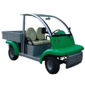 Electric Utility Buggies, CE Approved, 2 Seats with Steel Box pictures & photos