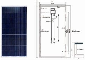 200W-225W High Quality PV Poly Solar Panel pictures & photos