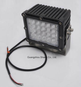Square 8inch 10-30V 100W Portable LED Work Light pictures & photos