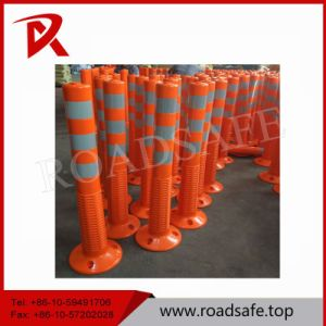 Highway PU Spring Post Flexible Delineator Warning Bollard pictures & photos
