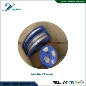 Pin Header Pitch 0.8mm  Dual Row Single Insulator Right Angle Type pictures & photos
