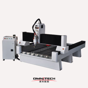 Low Price Rabbit Marble Granite Stone Engraver CNC Router Machine