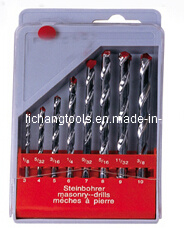 8PCS Masonry Drill Bit Set with Plastic Box pictures & photos