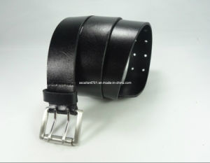 Fashionable Men′s Full Grain Leather Belt for Jeans (EUBL0657-35) pictures & photos