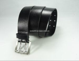 Fashionable Men′s Full Grain Leather Belt for Jeans (EUBL0657-35)
