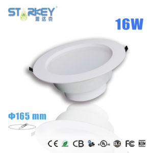 6 Inch Cutting Hole Size 16W Recessed LED Downlight