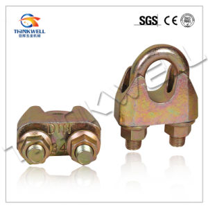 High Quality Galvanized Malleable DIN1142 Wire Rope Clip pictures & photos