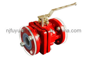 High-Quality FEP Lined Bellows Sealed Ball Valve pictures & photos