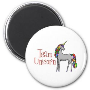2017 New Team Unicorn Rainbow Fridge Magnet pictures & photos