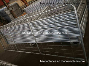 Heavy Duty Steel Farm Gate and Fences (hot galvanized welded wire mesh 100X200mm) pictures & photos