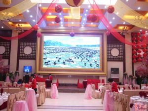 Large View Angle P10 Indoor Stage LED TV Screen