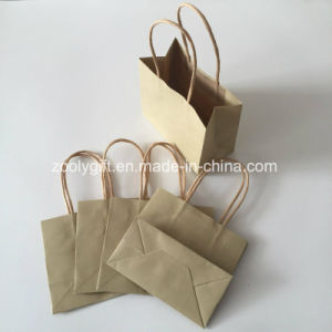 Customize Logo Printing Recycle Kraft Paper Gift Bag pictures & photos