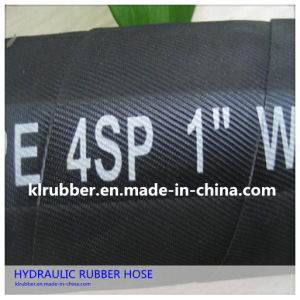 SAE 100 4sp Four Wire Hydraulic Rubber Hose pictures & photos