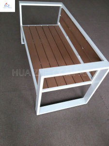 Plastic Wood for Outdoor Furniture Park Furniture with Table pictures & photos
