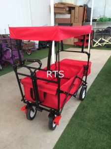Foldable Bollerwagen Hand Trolley Foldable Garden Trolley pictures & photos