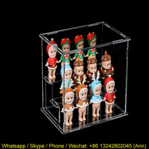 Hot Selling Acrylic Figures Display Box pictures & photos