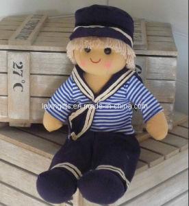 Loveable Sailor Rag Doll (CE Approval) (LE---FHRD0010)