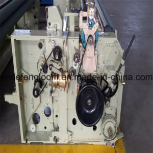China Double Nozzle Water-Jet Loom Weaving Machine with Cam Shedding pictures & photos
