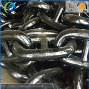 Manufacture Promotion Anchor Chain in Stock U3 92mm and 105mm Marine Link Anchor Chain pictures & photos