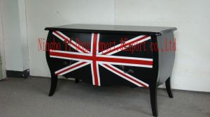 Antique Wooden Furniture Bedroom Table (B-064)
