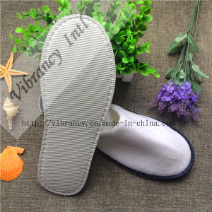 High Quality for Hotel Slippers, Velvet Material pictures & photos