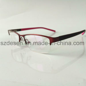 Classic Design Wholesale Stainless Half-Rim Eyeglasses Frames pictures & photos
