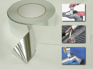 Duct Refrigerator Insulation Aluminum Foil Adhesive Tape pictures & photos