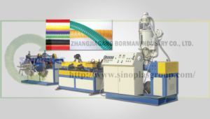 PE/PP Single Wall Corrugated Pipe Line pictures & photos