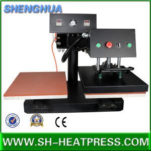 Brand New Neuva Pneumatic Double Heat Press Transfer Machine pictures & photos