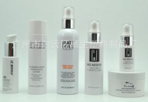 Fashion Packaging Empty Cosmetic Sets Spray Pet Bottle with Pump pictures & photos