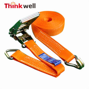 Load Binder Ratchet Tie Down Cargo Lashing Shipping Cargo Strap pictures & photos