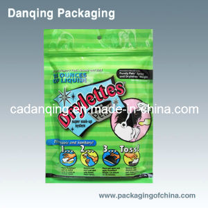 Pet Food Bag with Zipper, Plastic Packaging (DQ115) pictures & photos