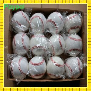 Colored Baseballs with High Quality Real Leather Base Ball (GC-BB004) pictures & photos