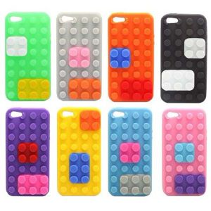 Block Design Silicone Case for iPhone 5 pictures & photos