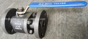 Forged Steel Flanged End 2PC Ball Valve-Lever Op. pictures & photos