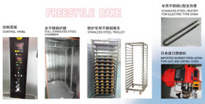 16 Trays Electric Rotary Oven Jm-16D pictures & photos
