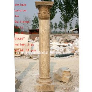 Antique Stone Sculpture Column (SY-C008) pictures & photos
