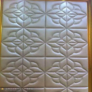 3D Acoustic Wall Panel Decoration Wall Panel Decorative Sheet Soft Roolls PU Leather pictures & photos