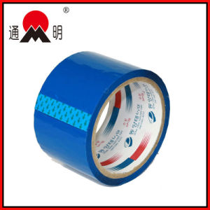 Blue Adhesive Customized Logo and Color BOPP Packing Tape pictures & photos