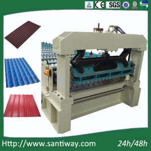 Fully Automatic Roofing Corrugated Sheet Cold Roll Forming Machine pictures & photos