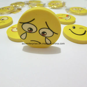 Smile Face TPR Eraser pictures & photos