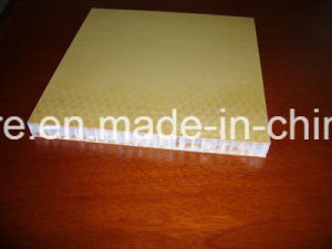 Stiffness Waterproof Fiberglass Honeycomb Sandwich Board pictures & photos