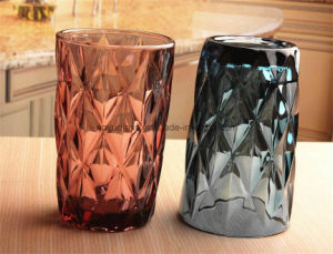 Colorful Glass Cups with Customizd Logos Drinking Glass Mugs for Juice Water pictures & photos